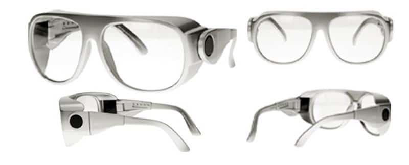 gafas plomadas para  quirofano